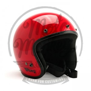 Kask Roeg Jett Flaming Red Gloss