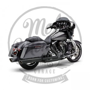 "Wydechy tłumiki 909 Twins 4"" Harley 17-20 Touring, Electra, Road King, Road Glide, Street Glide"